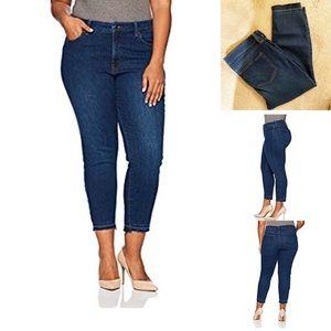 NYDJ Alina Ankle Jeans w/Step Release Hem-Sz 18W